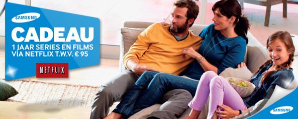 Samsung Netflix Promotie