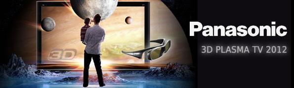 Panasonic 3D Plasma TV 2012