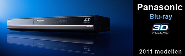 Panasonic 3D blu-ray 2011