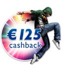 €125,- CASHBACK PHILIPS