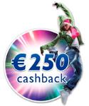 €250,- CASHBACK PHILIPS