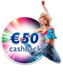 €50,- CASHBACK PHILIPS