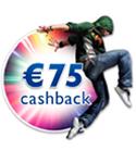 €75,- CASHBACK PHILIPS