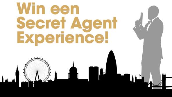 Win een Secret Agent Experience!