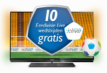 Philips actie 10 gratis wedstrijden