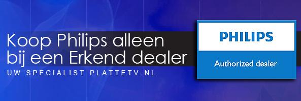 PlatteTV.nl is Philips erkend dealer