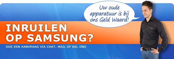 Inruilen op Samsung?